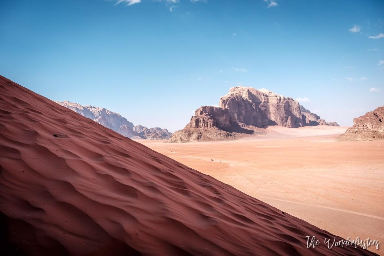 Wadi Rum - a Sand Dune
