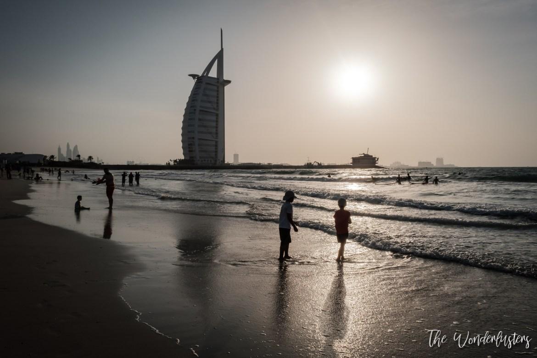 Burj Al Arab from Sunset Beach