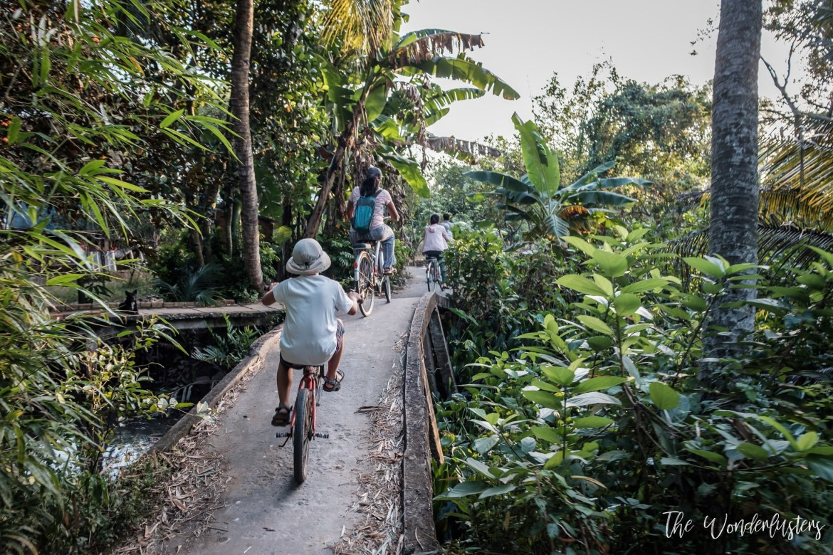 Bike Riding in the Mekong Delta