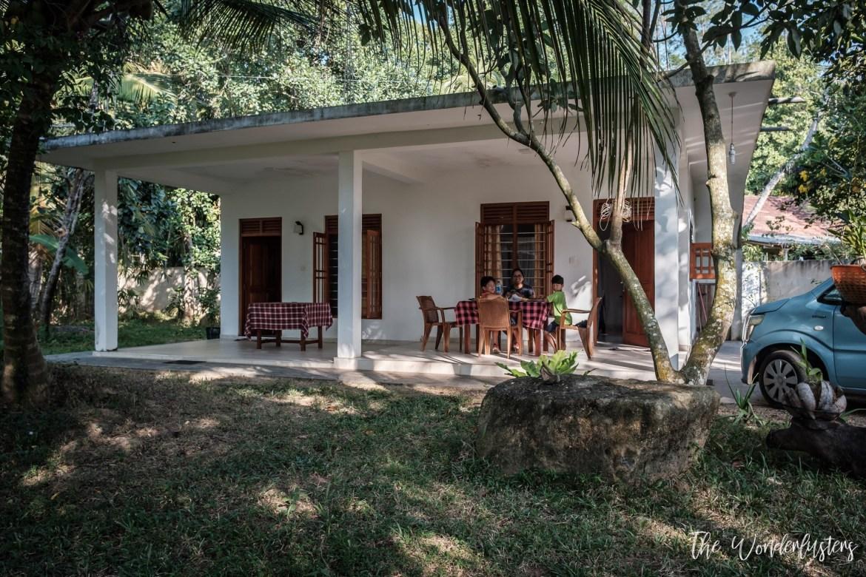 Our Villa in Mirissa