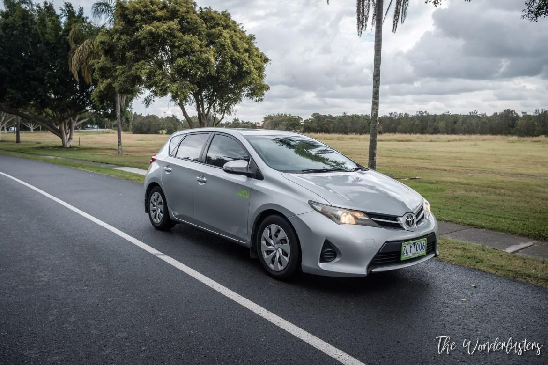 Toyota Corolla in Gold Coast