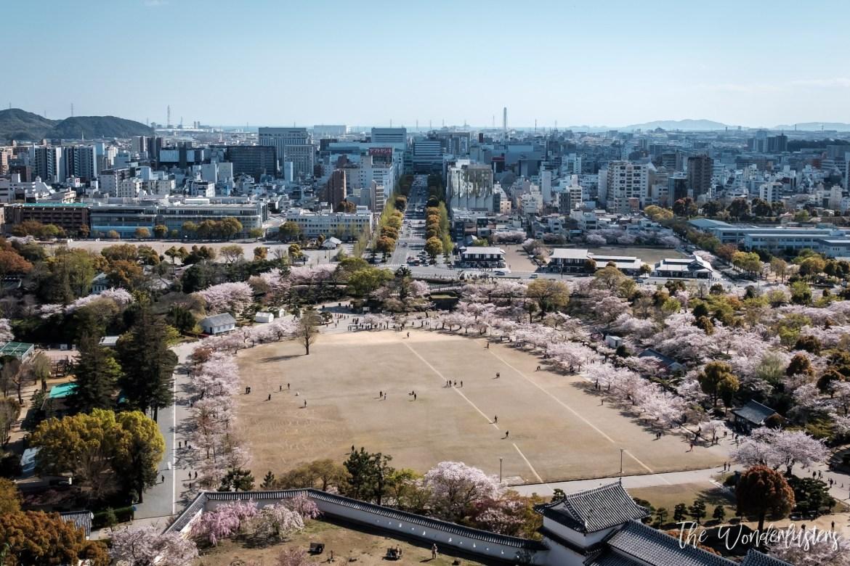 Himeji, View from Himeji Castle