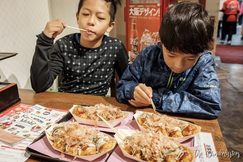 Takoyaki in Osaka