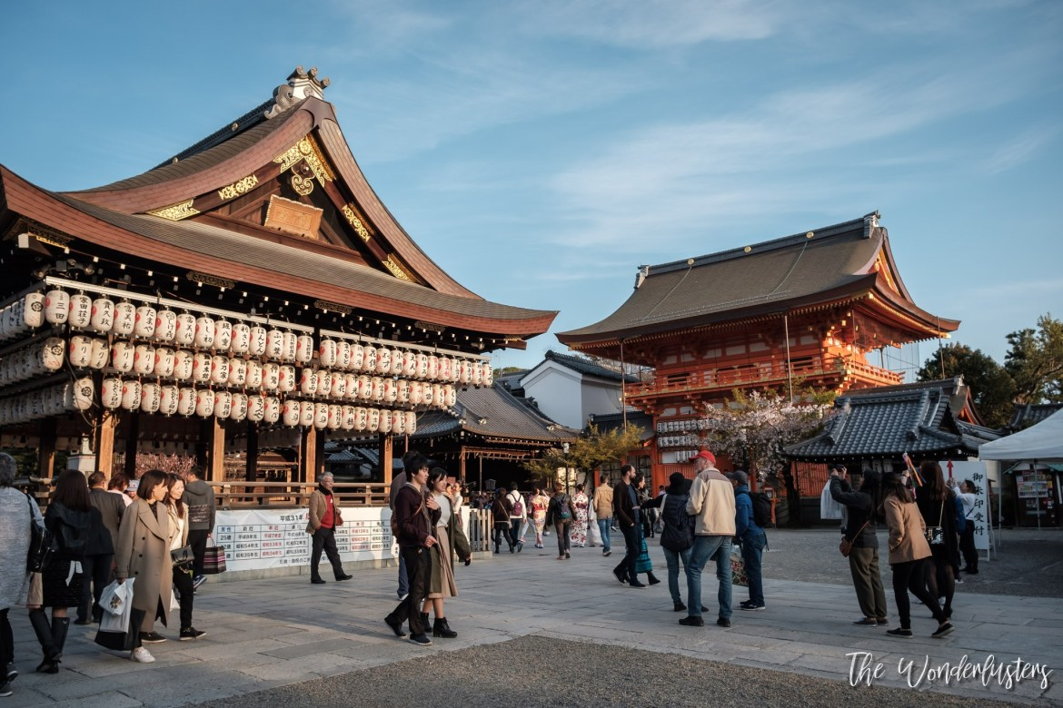 Yasaka Shrine Tokiwa-Shinden