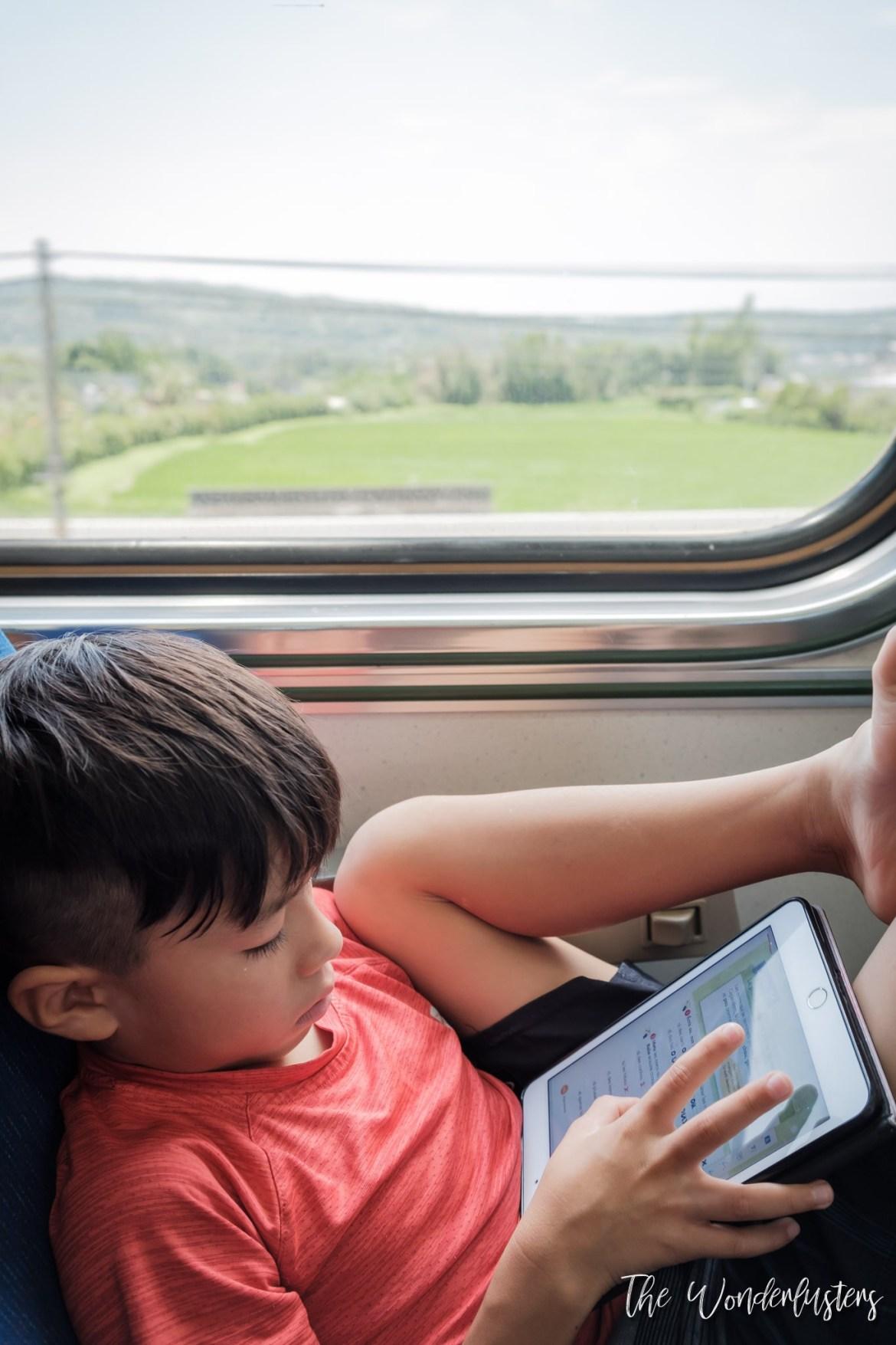 Homeschooling Aboard the Train