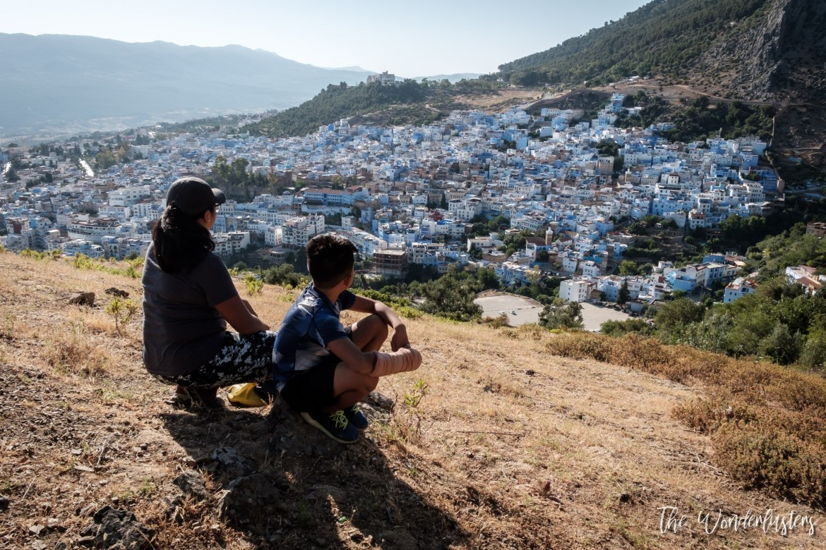 Chefchaouen View Over the City
