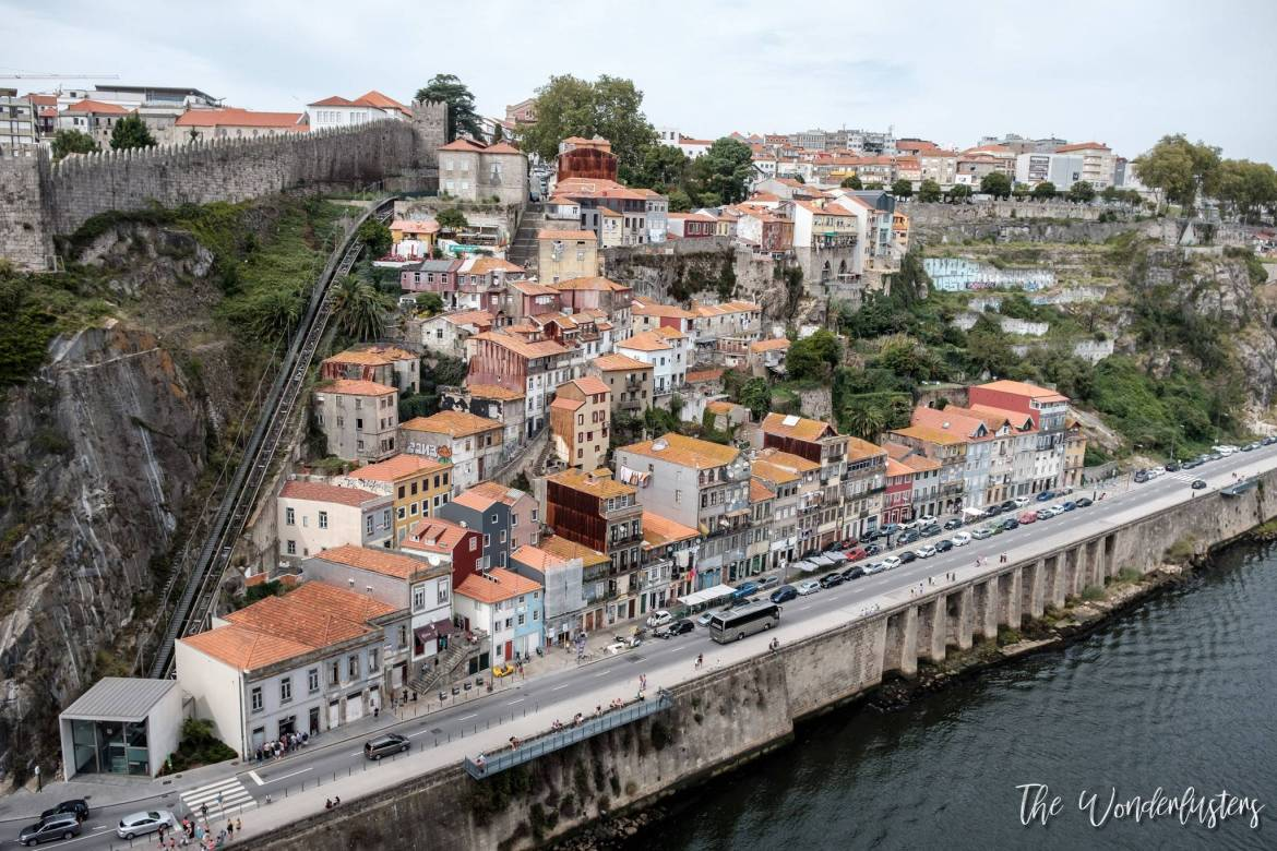 Porto, view from Dom-Luís Bridge