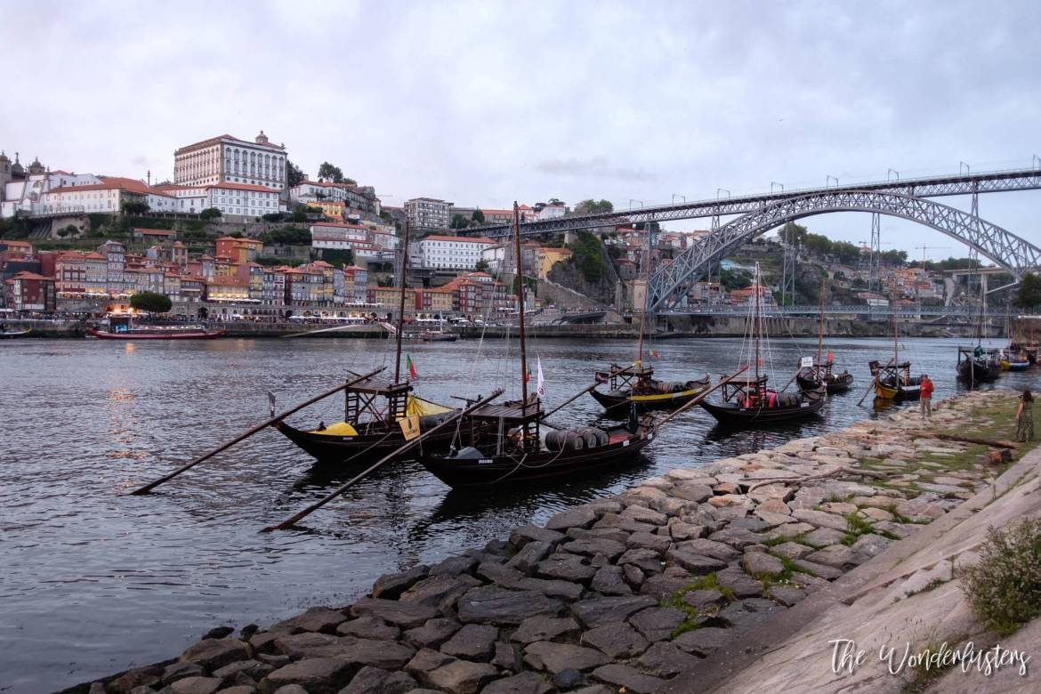 Sunset on Porto