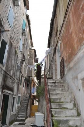 Les ruelles de la vieille ville, ancien palais de diocletien