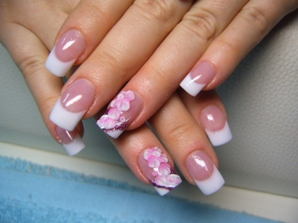 Nail Art With Acrylic Paint