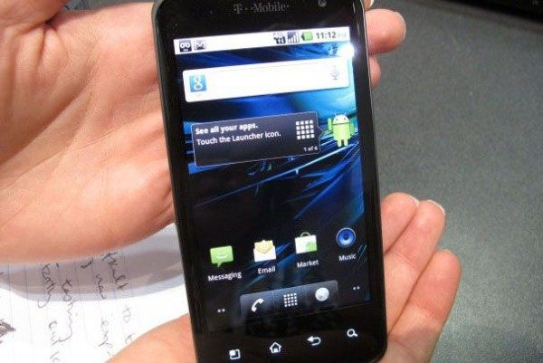 T-Mobile G2x (with Google)
