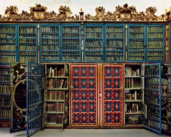 Library of the University of Salamanca, Spain