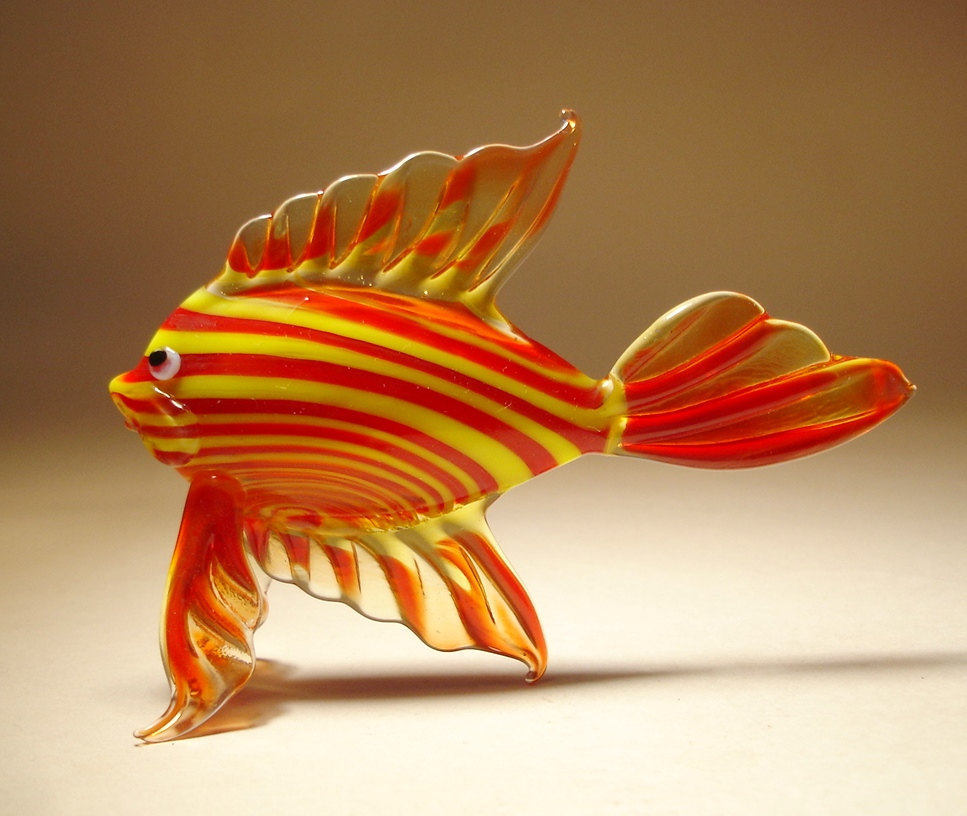 Cute Wallpapers With Quotes Free Download 22 Stunning Handmade Blown Glass Fish Figurine By Bill