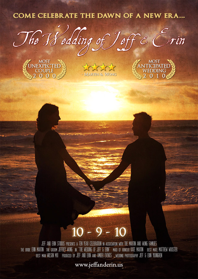 Cd3a75ae8085d4c49f9a3cdca899c2b0 F48c5e5c6576bd16098b75591cfa6385 The Wedding Movie Poster Themed Invitation