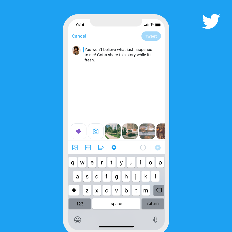 Twitter Introduces Voice Tweets