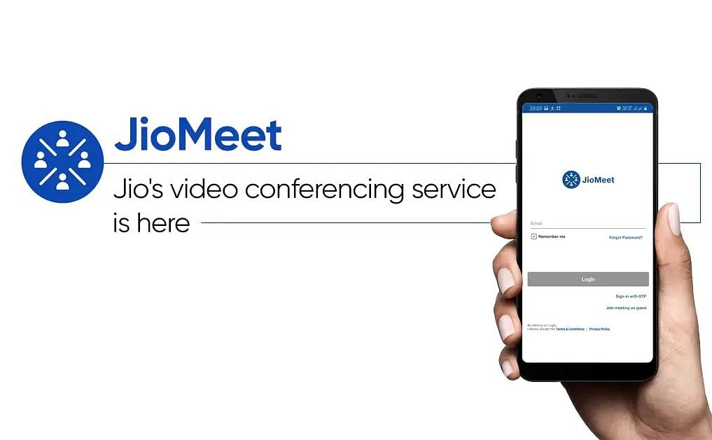 jio meet video app during the agm