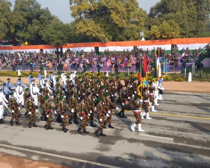 bangladesh contingent republic day 2021