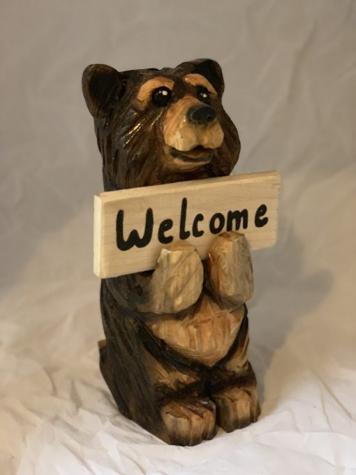 Small Chainsaw Carved Bear