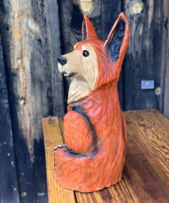 wood fox