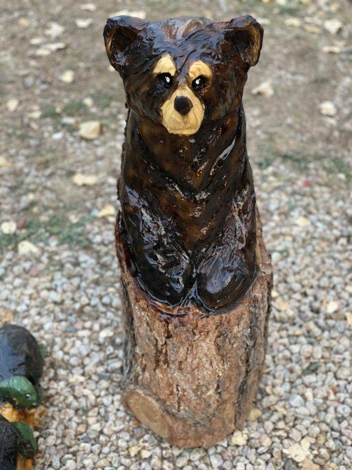log bear