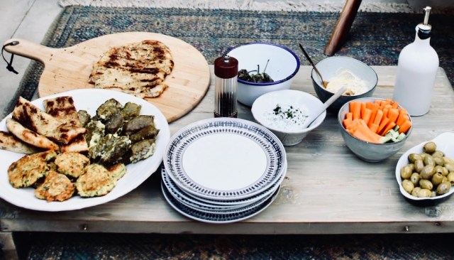 Make your own meze.