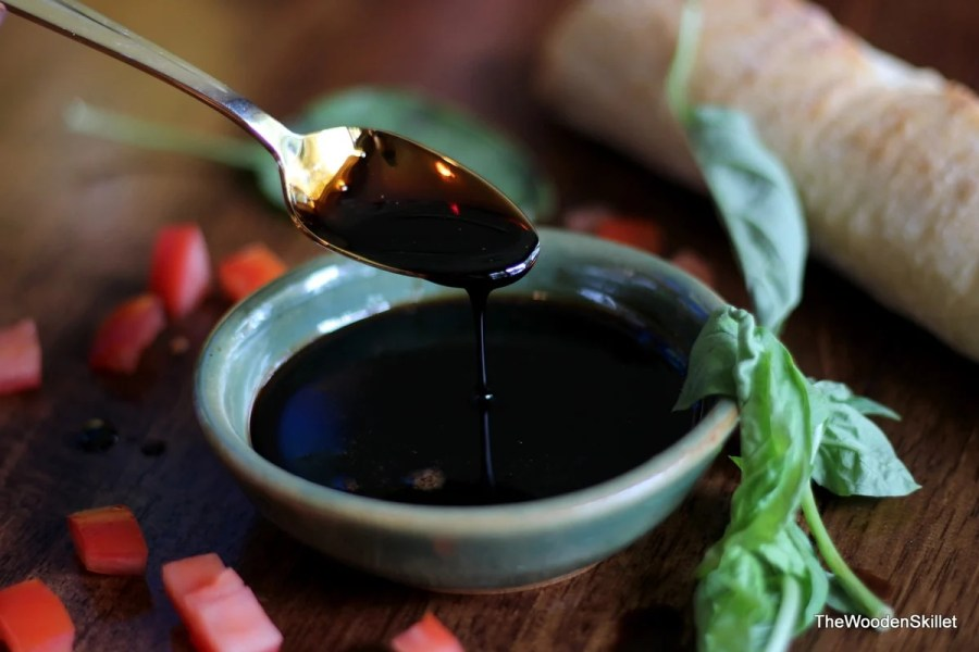 sweet balsamic glaze
