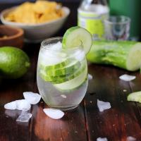 Refreshing Cucumber Vodka Water
