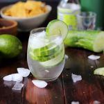 Refreshing Cucumber Vodka Water