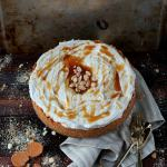 Light and Fluffy Cardamom Cheesecake + Cinnamon, Vanilla and Caramel