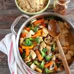 Healthy Chicken Teriyaki Stir-Fry + Brown Rice