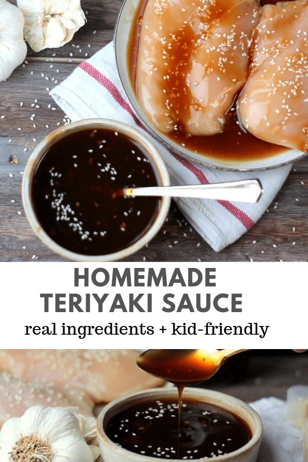 How to Make Homemade Teriyaki Sauce - never buy it from the store again! #homemadeteriyaki #howtomaketeriyaki #teriyakirecipes