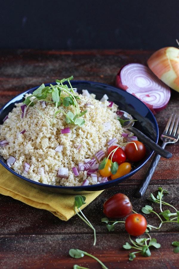How to Make Cauliflower Rice
