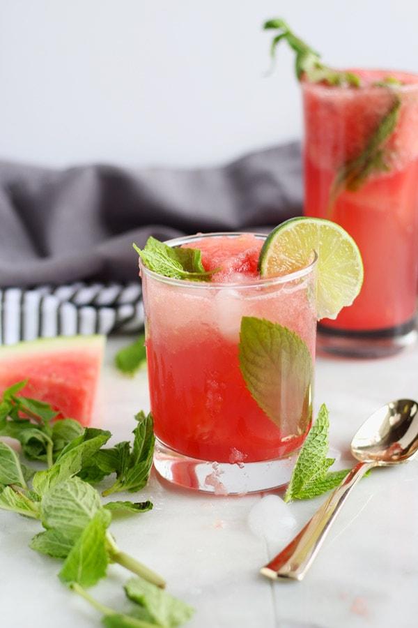 Sweet Watermelon Mint Summer Spritzer