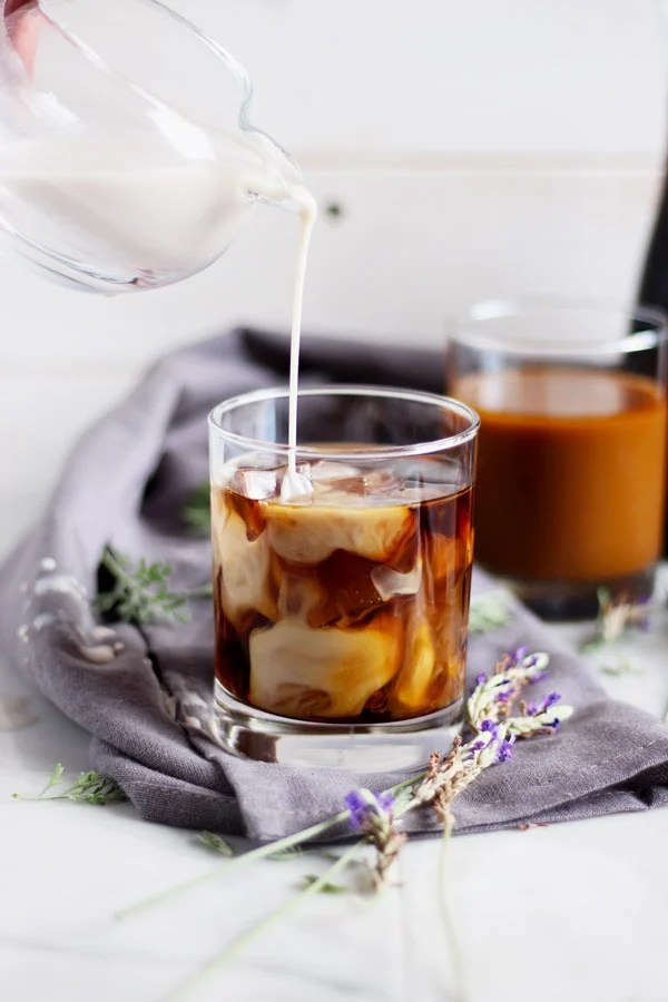 Honey Lavender Cold Brew Latte