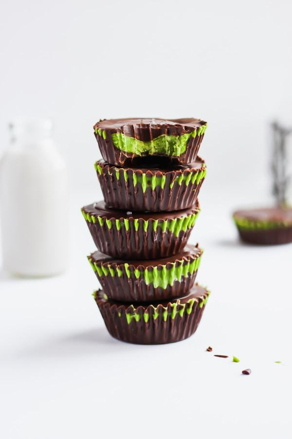 Matcha Coconut Butter Cups