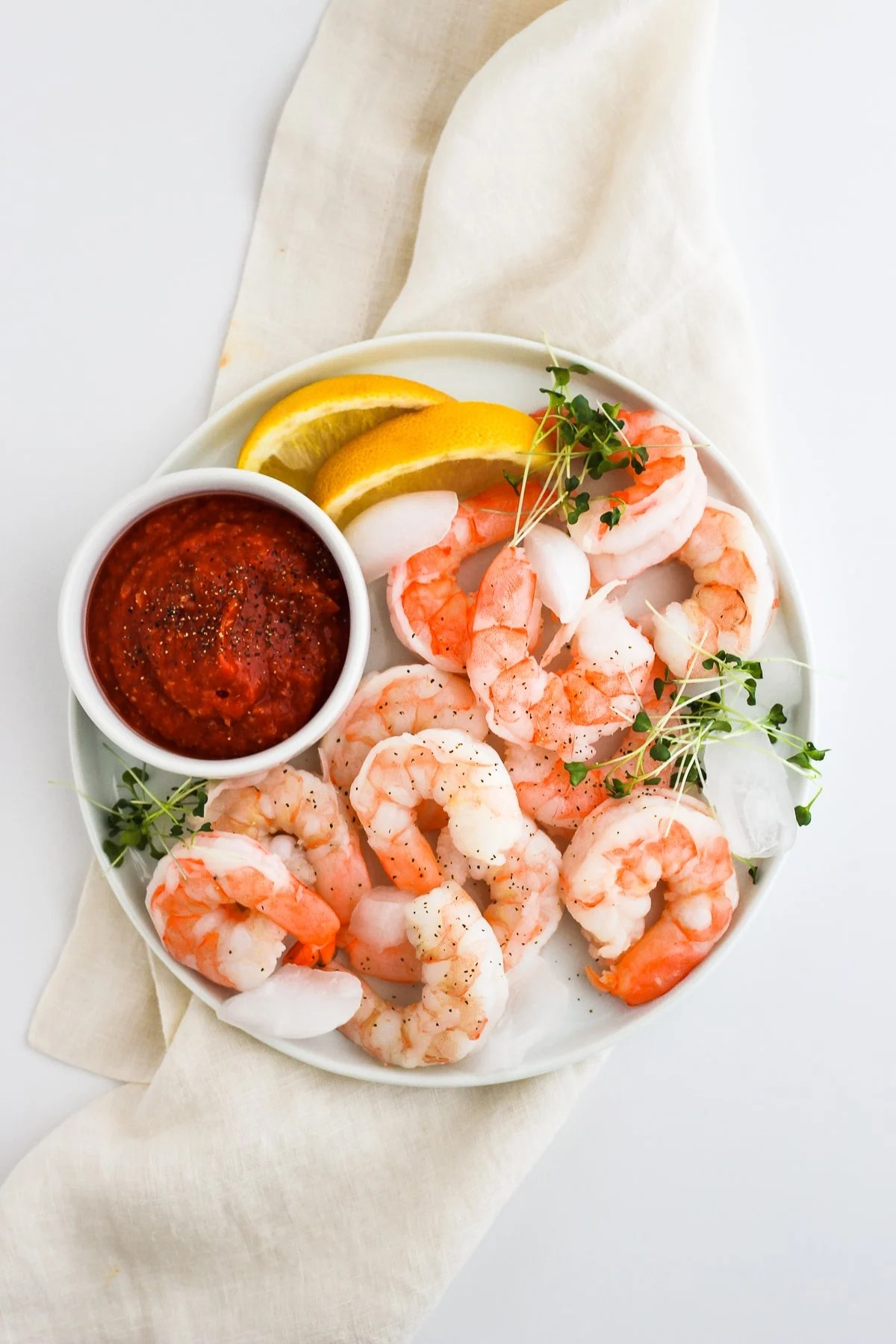 Whole30 Shrimp Cocktail Sauce #whole30 #cocktailsauce