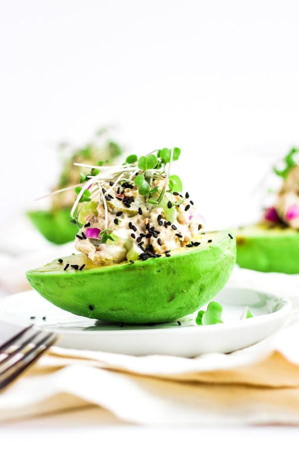 My Favorite Tuna Salad with Avocado