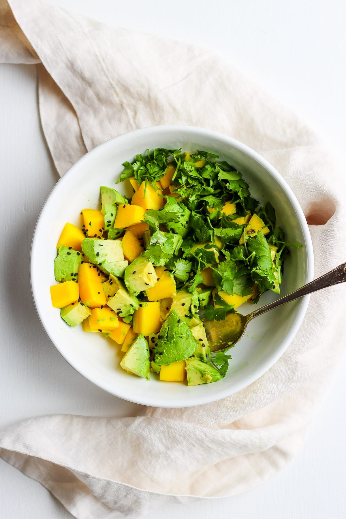 mango and cilantro