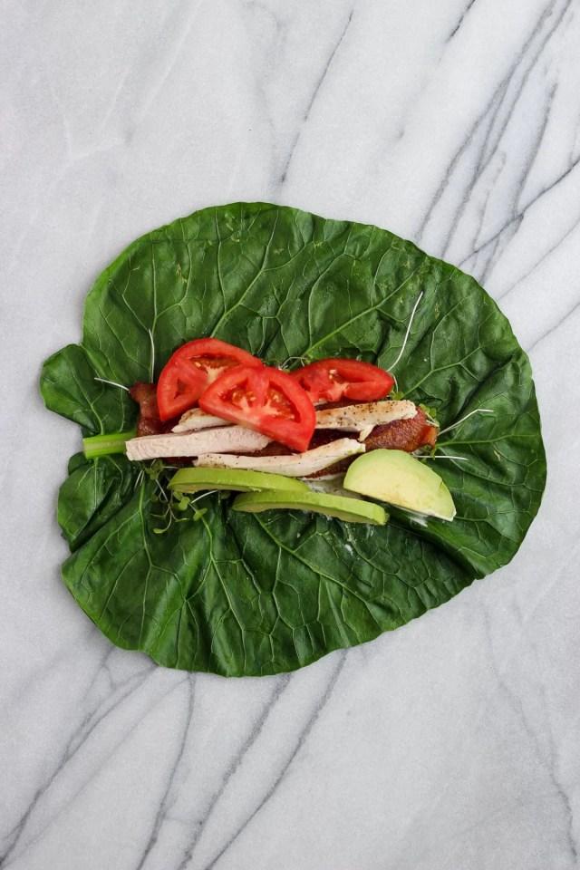 How to Prep Collard Green Wraps