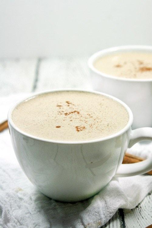 Paleo & Whole30 Cinnamon Vanilla Latte