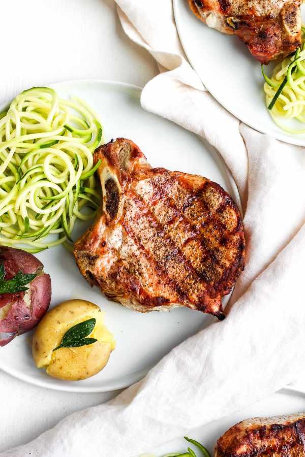 Simple Weeknight Sumac Pork Chops
