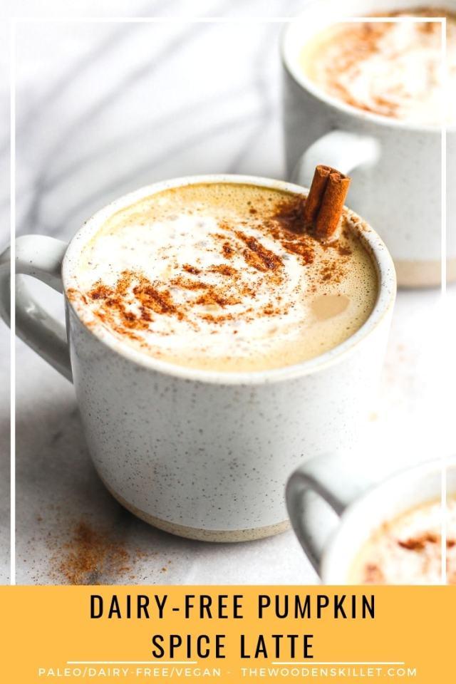 Dairy-Free Pumpkin Pie Spice Latte