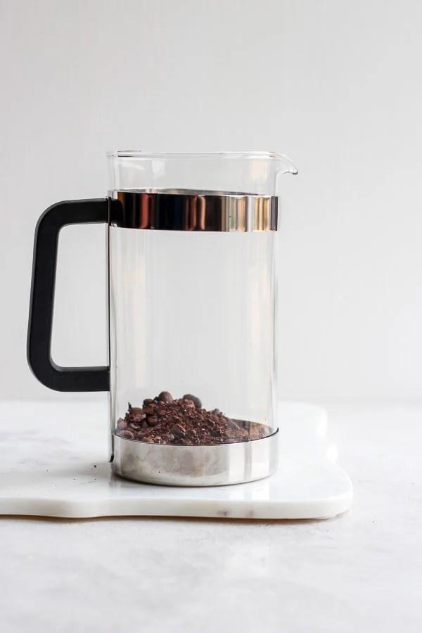 cold brew coffee French press