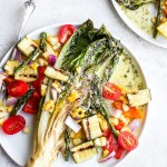 Delicious Grilled Vegetable Salad