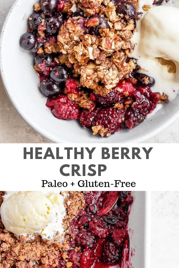 berry crisp recipe