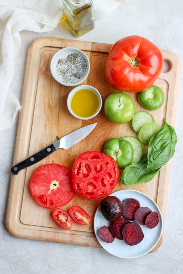 vegan beet salad