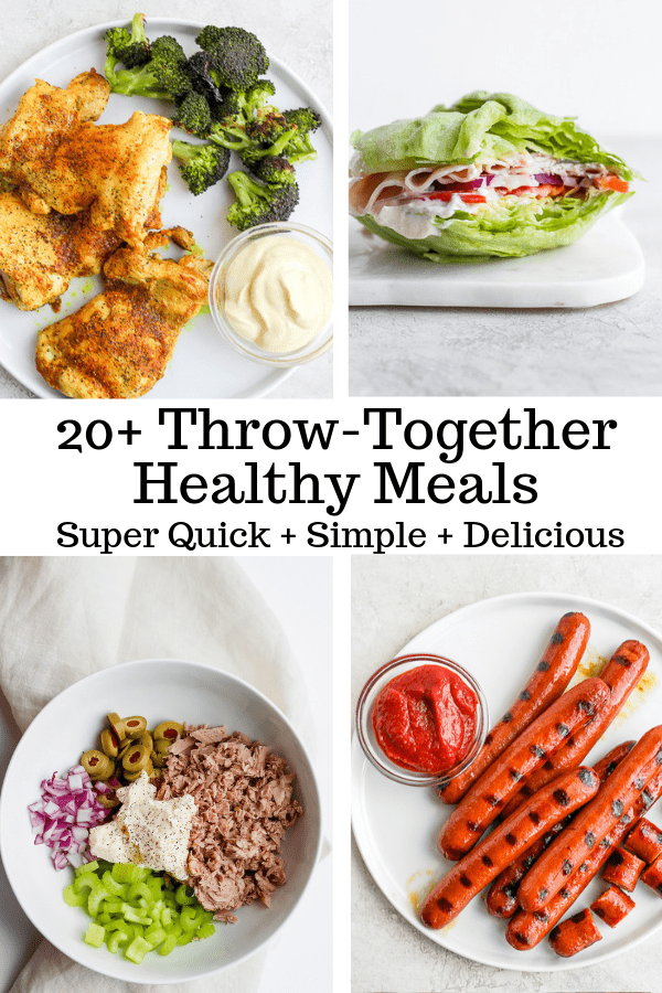 Quick and Healthy Meals