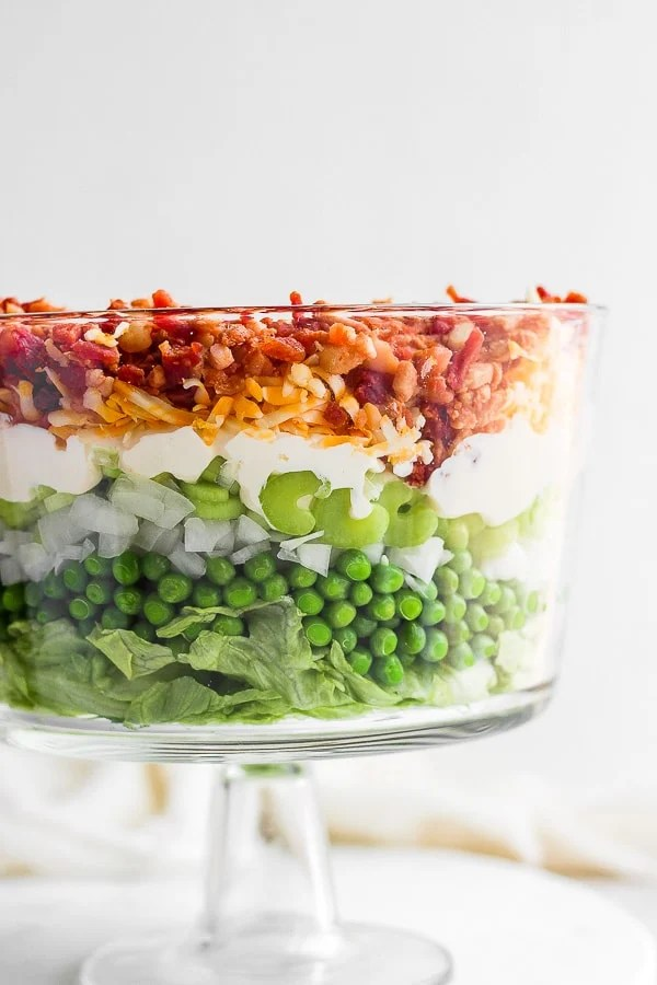 seven layer salad recipe