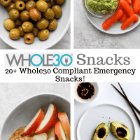 Easy Whole30 Snacks