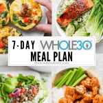 Weekly Meal Plan #5 (Whole30)